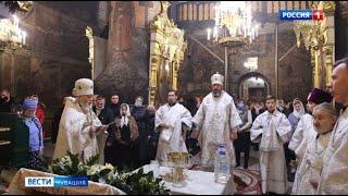 В православных храмах Чувашии прошли торжественные богослужения в честь Крещения Господня