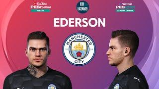 PES 2021 Ederson Moraes Face Manchester City PES 2020