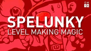 How (and Why) Spelunky Makes its Own Levels | Game Maker