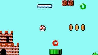 Short TAS - Super Mushroom (super mario bros hack) (NES)  - Vizzed.com GamePlay (rom hack)