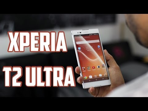 Sony Xperia T2 Ultra, Review en Español