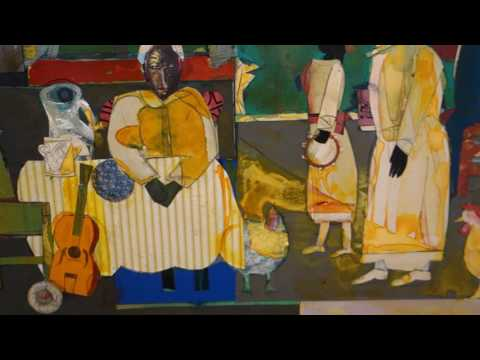 Romare Bearden Bayou Fever at D C MOORE GALLERY