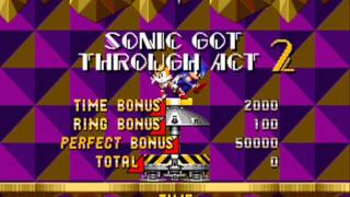 Longplay Hack - Sonic the Hedgehog Megamix 2