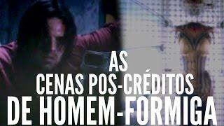 As Cenas Pós-Créditos de HOMEM-FORMIGA - EXPLICADAS