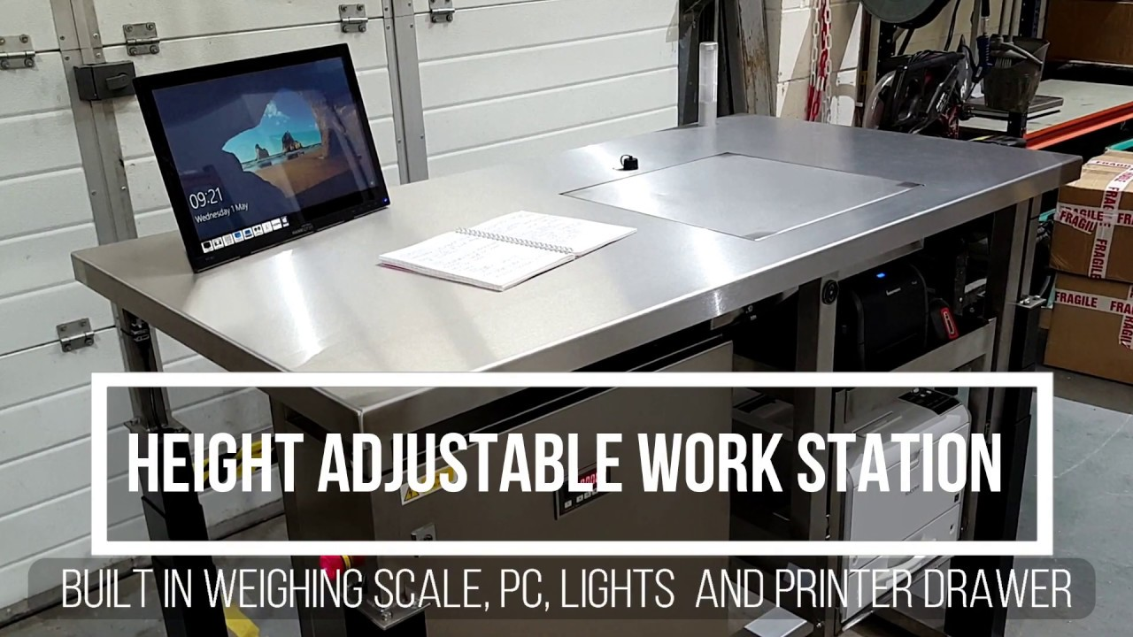 Height Adjule Workstation With