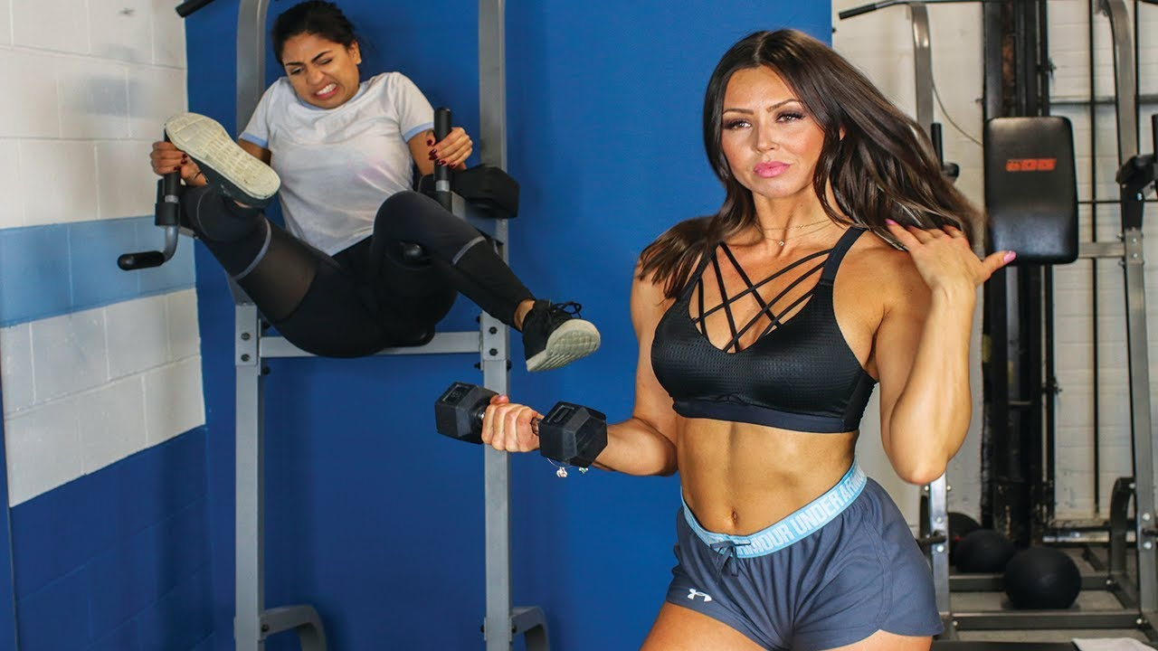 Types of girls at the gym