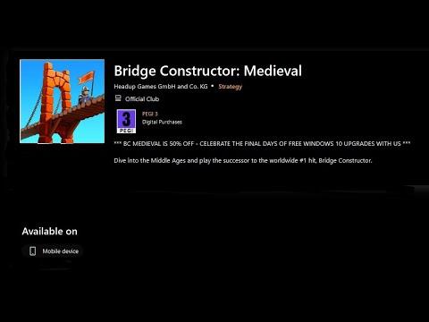 Bridge Constructor Medieval On Windows Phone |