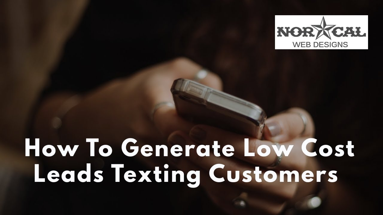 How We Generate Low Cost Leads With Text Message Campaigns
