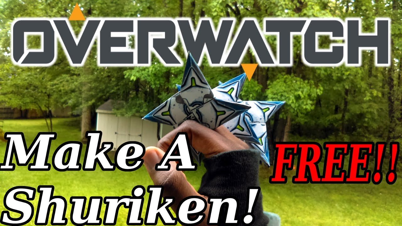 make a genji styled shuriken from paper free youtube
