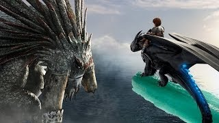how to train your dragon 2 toothless vs bewilderbeast