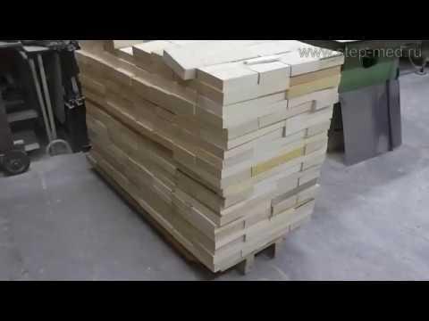 Изготовление боковой планки рамки с разделителем