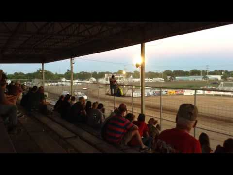 Colin Heim IMCA Hobby Stock Thomas County Speedway Heat&Feature 6 26 15