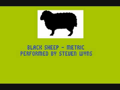 Black Sheep - Metric ( Instrumental cover )