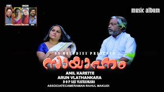 സായാഹ്നം Music Album Album Song 2021 Heart Touching Song Latest Malayalam Song Anil Karette