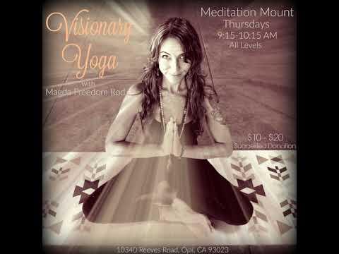 BONUS: Ojai Yoga Class at Meditation Mount
