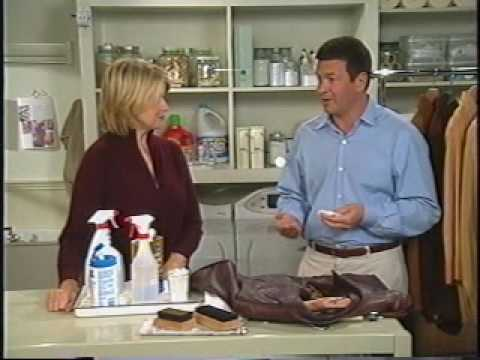 Suede And Leather Care with Martha Stewart - YouTube