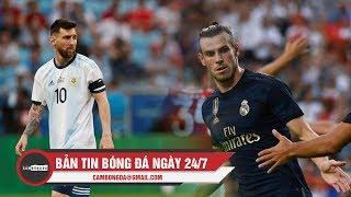 Bản tin Cảm Bóng Đá ngày 24/7   Messi nhận án phạt, Real thắng nhọc nhằn