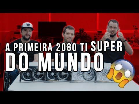 Profanando a RTX 2080Ti SUPER! / First RTX 2080Ti SUPER in the world