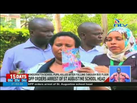 DPP Keriako Tobiko orders arrest of St. Augustine School Head