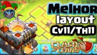 LAYOUT CV11 GUERRA, PUSH E FARM CLASH OF CLANS