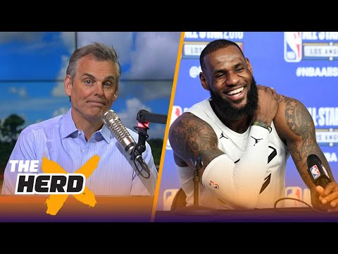 Colin Cowherd believes Cavs forward LeBron James saved the NBA AllStar Game  THE HERD