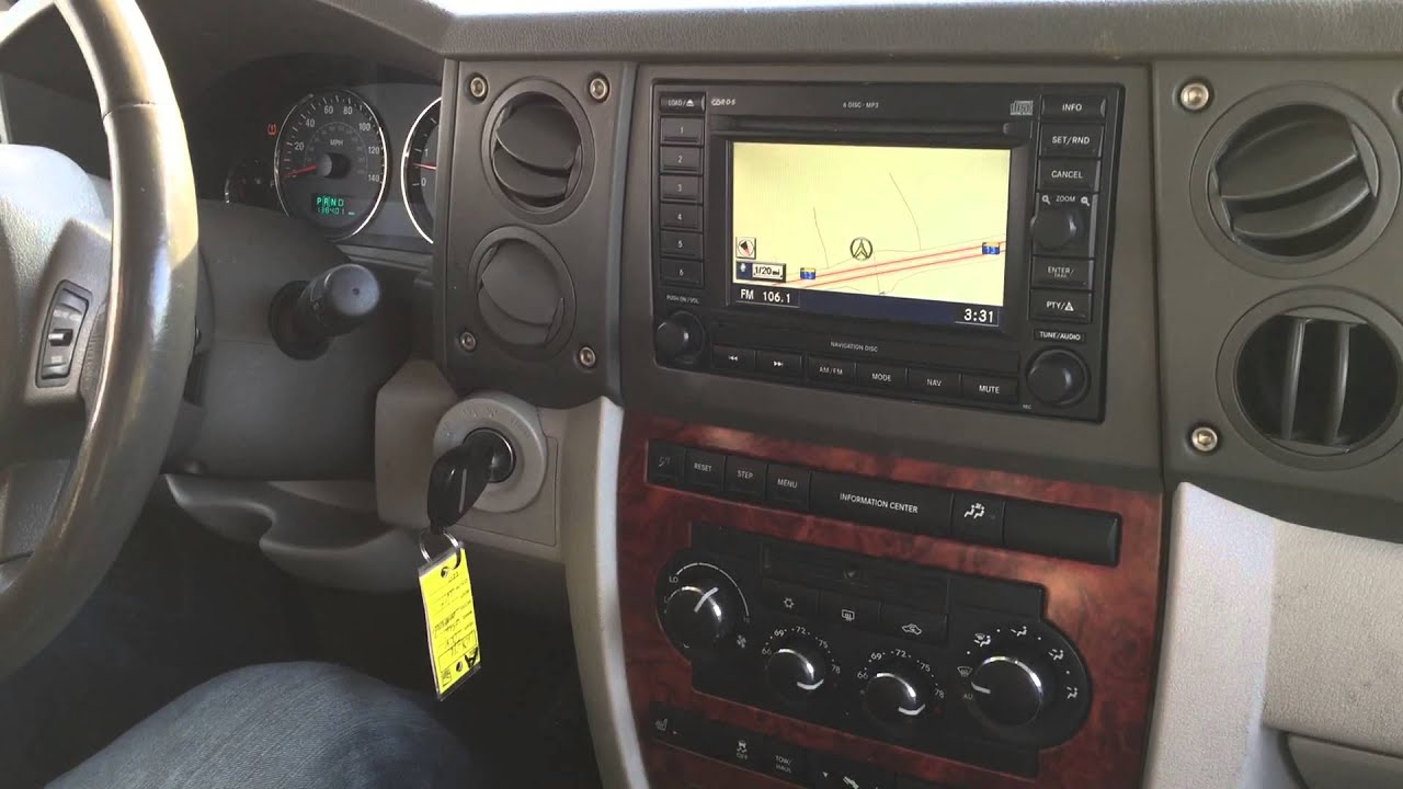 2006 jeep Commander Limited, 4x4, 4.7 V8 - YouTube