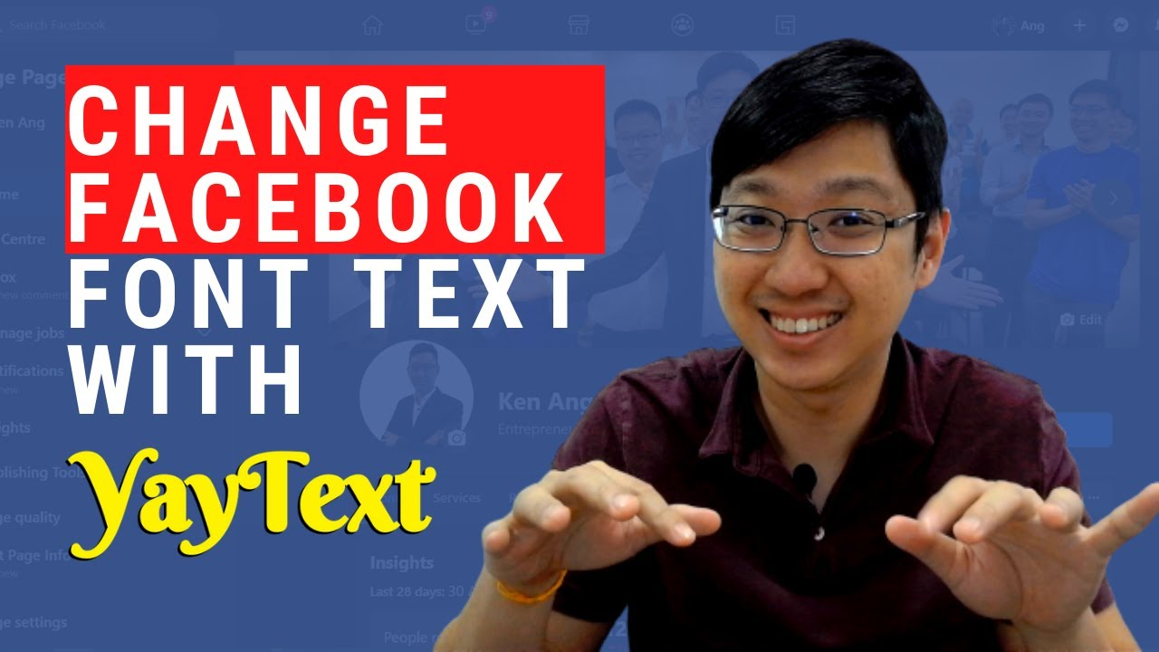 How To Change Facebook Font Text With Yaytext Youtube The yay usa font has been downloaded 59,829 times. youtube