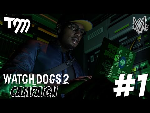 CAN I HACK IT!! - Watch Dogs 2 LIVE Gameplay Walkthrough #1