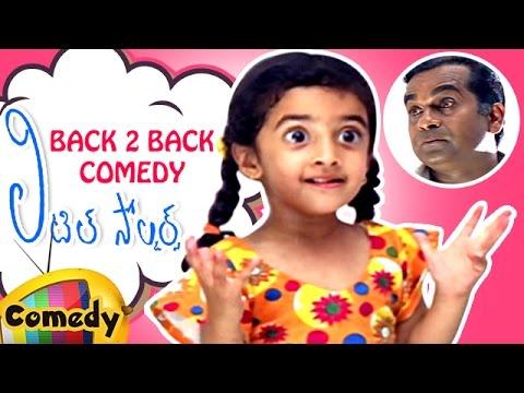 Little Soldiers Movie Scenes | Back to Back Best Comedy Scenes | Brahmanandam | Baladitya | Heera