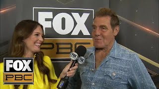 Trainer Joe Goossen talks about his fighter Chris Arreola with Heidi Androl | INTERVIEW | PBC ON FOX