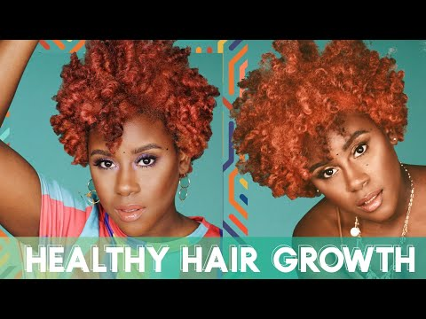 How to Maximize Healthy Hair Growth - Where It Starts & What You Need - 동영상