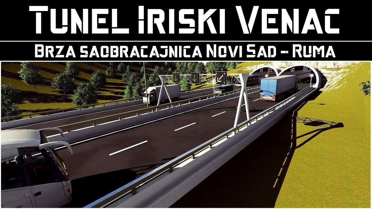 Tunel Iriški Venac / Ulazni Portal - Vizualizacija