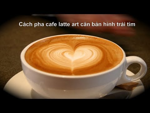 how to make cafe latte art