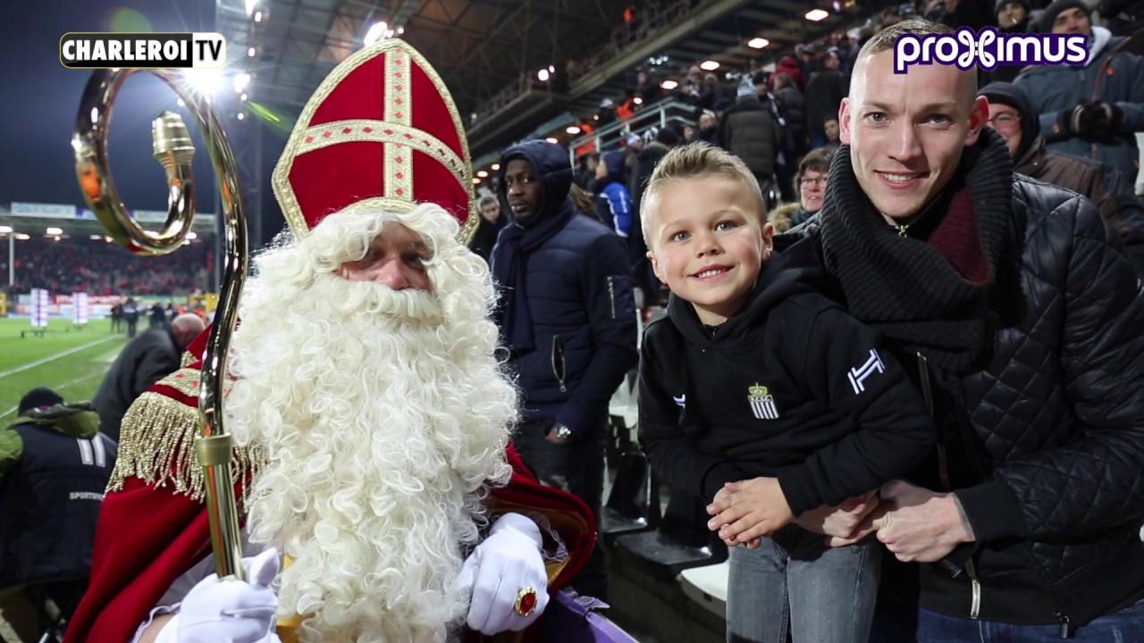 Le sporting de Charleroi vous souhaite une joyeuse Saint Nicolas
