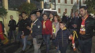 Catanzaro - Juve Stabia 0-3: I tifosi giallorossi nel DopoStadio