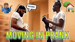 """I AM MOVING IN"" PRANK ON CLARENCENYC !! (MUST WATCH GETS EMOTIONAL) * REVENGE PRANK *"