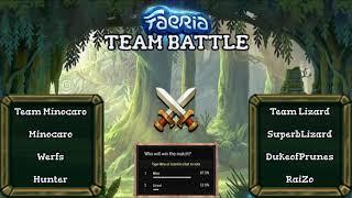 Faeria Team Battle: Team Mino VS Team Lizard