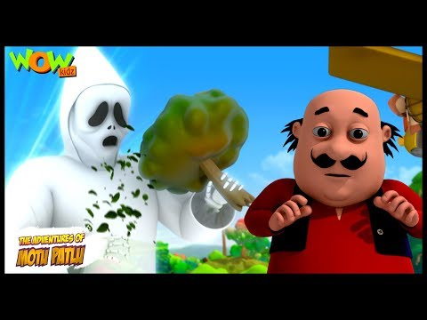 Tree Eater Ghost - Motu Patlu in Hindi - 3D Animation Cartoon for Kids -As seen on Nick thumbnail