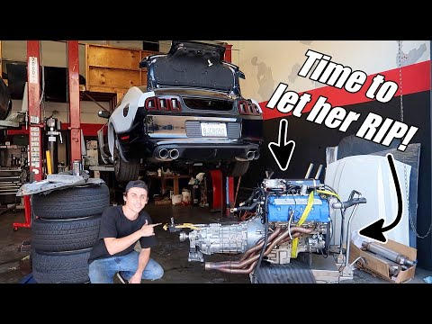 Dropping Miley's 1500hp Engine into Shelby 1000 Widebody! Ready for STARTUP