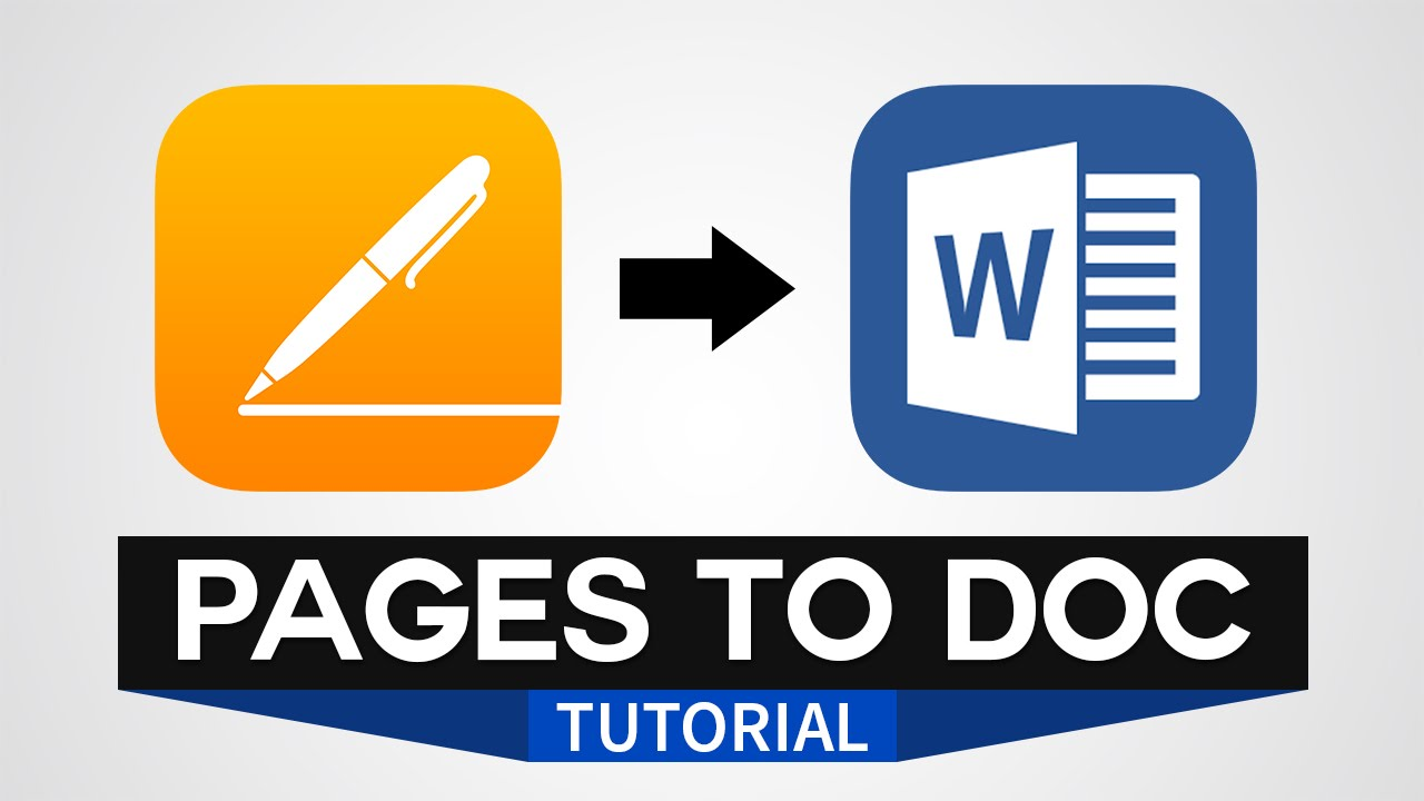microsoft word to pages converter