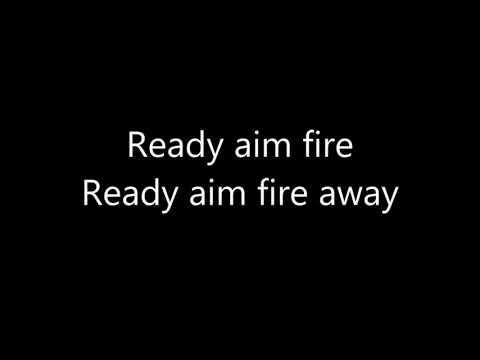 Imagine Dragons -( Ready Aim Fire) Lyrics
