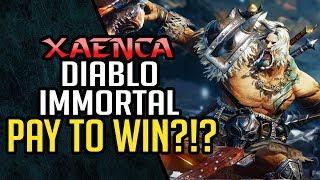 Diablo Immortal PAY TO WIN?!? Netease Teaches Blizzard Microtransactions | Xaenca