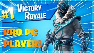 🔴 *NEW* Snowfoot Skin! Pro PC Player // Playing With Members! (Fortnite Battle Royale)