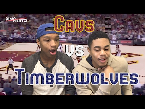 Cleveland Cavaliers VS Minnesota Timberwolves 02/01/17 FULL HIGHLIGHTS AND REACTION!!