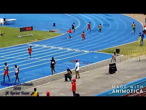 Camperdown Classic 2018 - Jamaica College Sprint Team