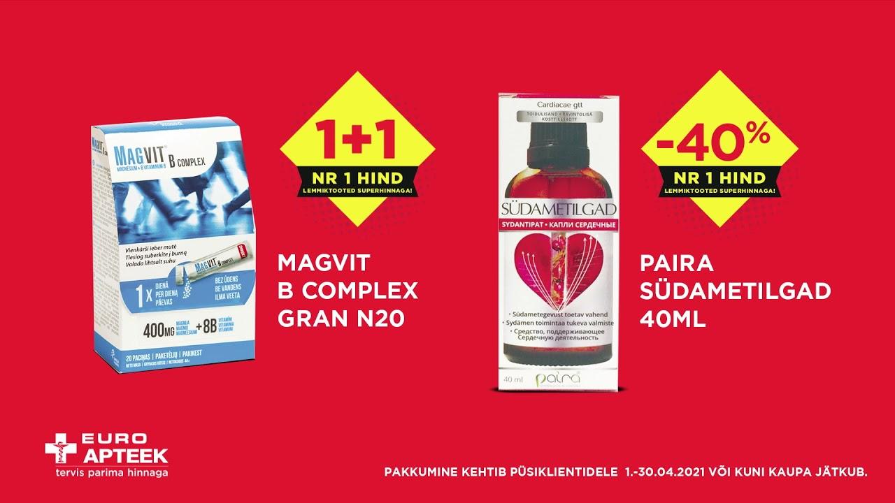 NR1 HIND aprilli tervisetooted
