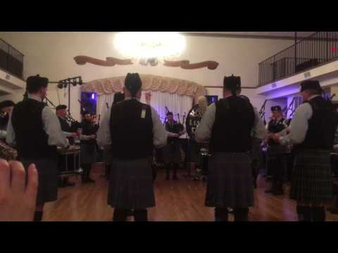 US Navy song, Anchors Aweigh by the Loa Fail Pipe Band