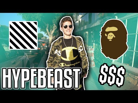 $1,500 BAPE & OFF WHITE HYPEBEAST OUTFIT CHALLENGE!