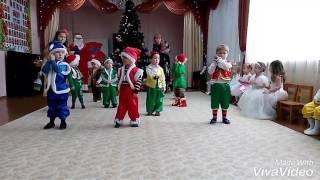 Новогодний танец «Гномики» в детском саду