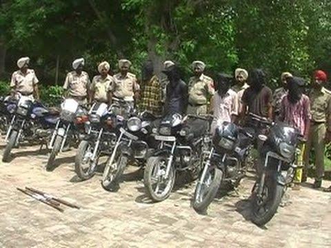 Punjab Police Arrest A Inter State Motorcycle Thief Gang at Sangrur